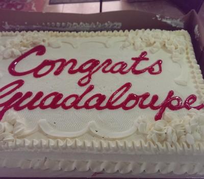 Guadeloupe-Cake