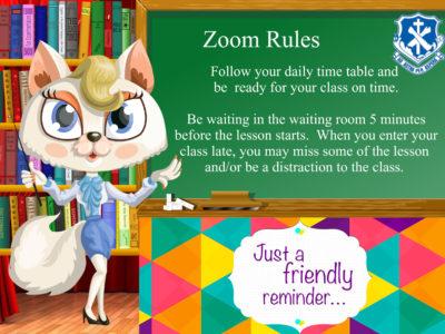 Zoom Rule 1